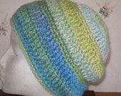 Crochet Slouchy Hats Adult In Many Colors