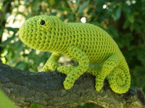 PDF Chameleon amigurumi CROCHET PATTERN