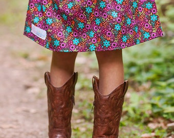 Boutique Girls Skirt. . . Ready to ship Daisy dots skirt 2 Toddler - 9 Youth By K Bella Bambino