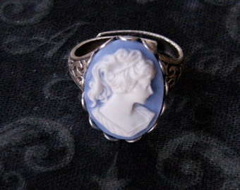 Blue Lady Ring