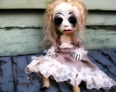 Loopy Polymer Clay Ooak Art Doll Doll Victorian Ophelia