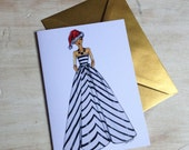 Christmas Fashion Card