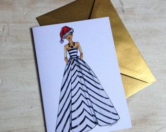 Christmas Fashion Card