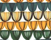 tulip heads - A4 giclée art print
