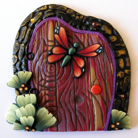 Butterfly Fairy Door