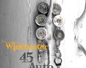 Winchester 12 GA casings Bracelet Gorgeous mixed metals shotgun shell