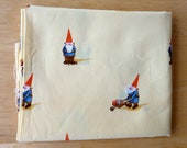 Heather Ross Yellow Gnomes--Destash