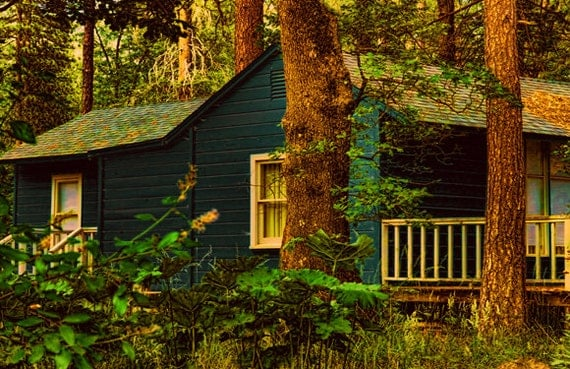 rustic artwork Instant Download Nature photography  landscape rustic cabin digital Download Commercial Use Digital Graphics Photography