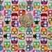 Timeless Treasures Tiny Owls Pink Fabric - By the Yard