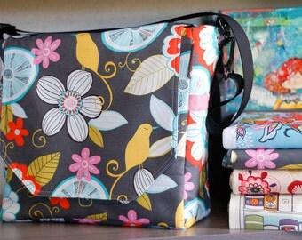 Diaper Bag - Messenger Bag - Multi Purpose Bag - CUSTOM - You Pick Fabric