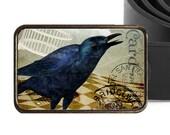Raven Postmark Belt Buckle