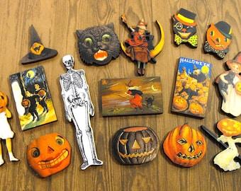Wooden Halloween Cuts