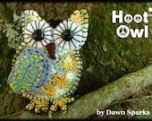 DOWNLOADABLE PDF PATTERN -  Buckster's Crocheted Hoot Owls