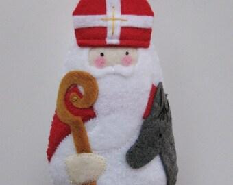 Saint Nicholas Felt Saint Softie