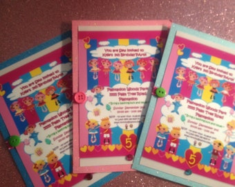Made to Order - LALALOOPSY Invitations