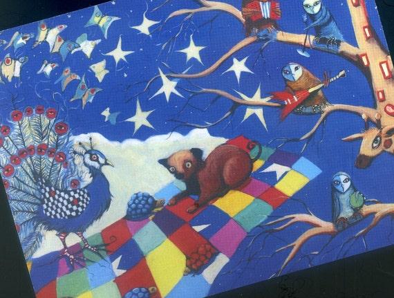 WuTang's Magic Carpet Ride - Postcard of Distinction