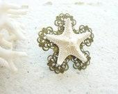 Starfish Beach Ring - Sea Treasure Collection