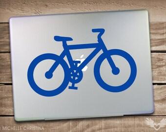 Bicycle Ride - Bike Laptop Decal