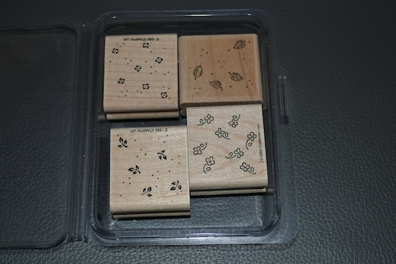 Petite Patterns- Rubber Stamp Set of 4 from Stampin Up