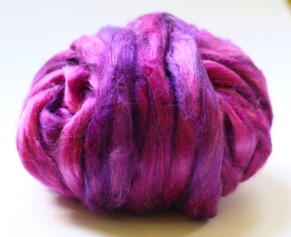 Hand Dyed Tussah Silk Top - Arrosa