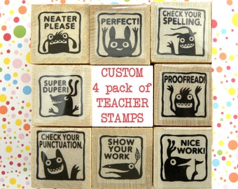 CUSTOM stamp set