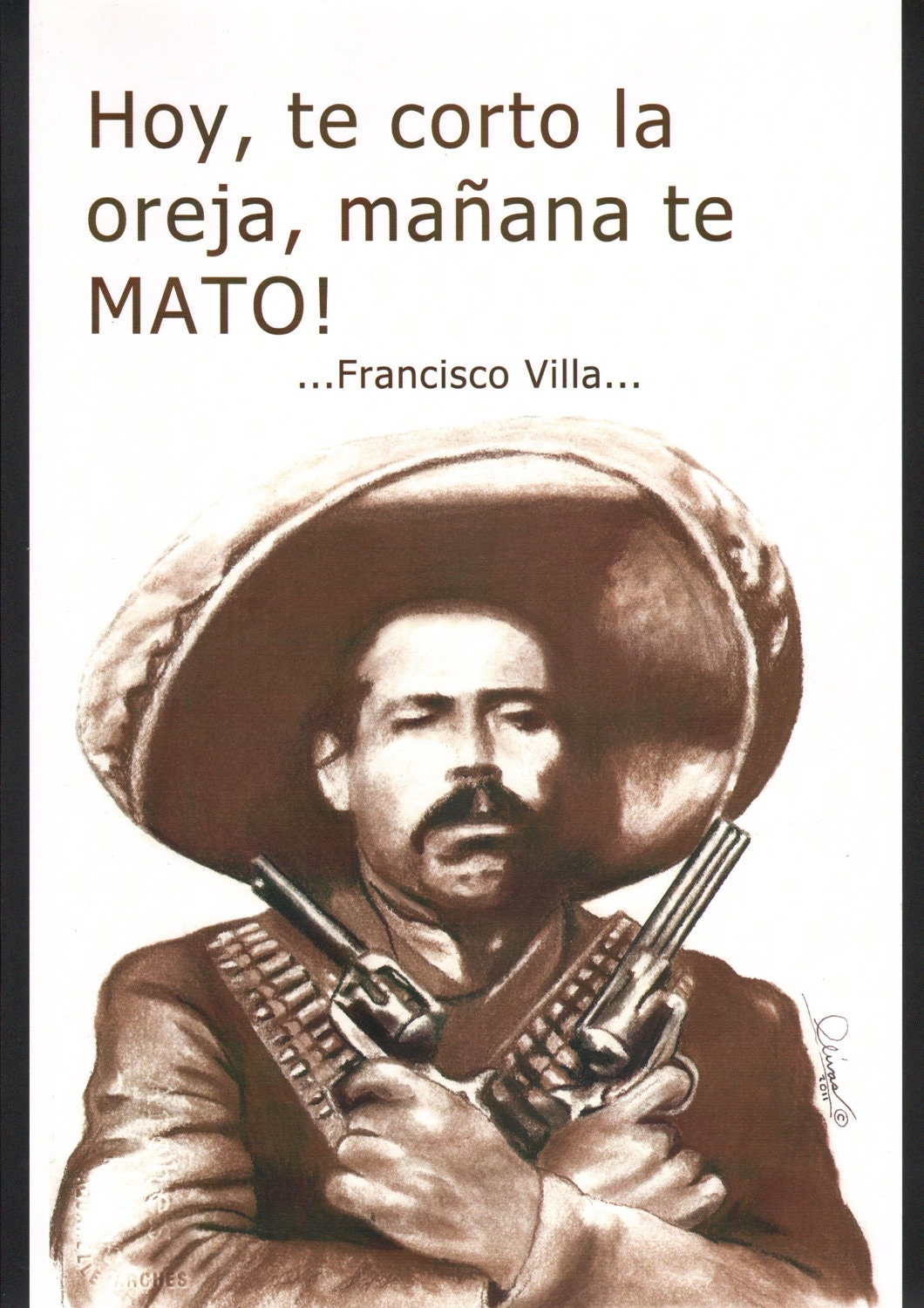 pancho villas leadership essay Francisco pancho villa was a mexican revolutionary general and one of the  most prominent  villa then fought his erstwhile leader in the coalition against  huerta, first chief of the constitutionalists  villa's political stature at that time  was so high that banks in el paso, texas, accepted his paper pesos at face value.
