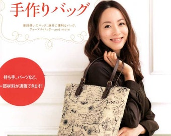 A Variety of Handmade Bags - Japanese Craft Book