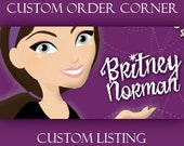 Custom Order for Britney