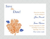 Coral Reef Save the Date