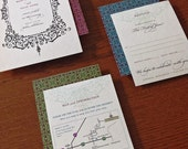 Western Gothic - 10 Invitations inspired by the Old West
