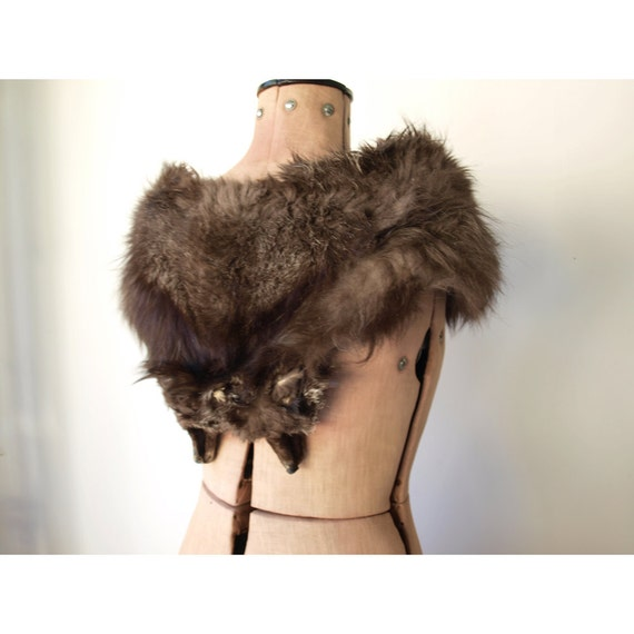 1950 Muskrat Fur with Heads