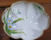 Hand Painted Nippon China Dish, Candy Dish, Small Bowl