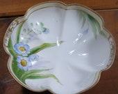 Hand Painted Nippon China Dish, Candy Dish, Small Bowl