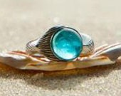 NEW Mako Mermaid Ring Sterling Silver 925 - thesilverart