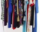 Vintage 60s Mod Dress Lot of 25 Dresses Wholesale 60s 70s Dresses Mod Disco Hippie Ethnic Hawaii Mini