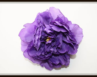 Full Purple Peony - 5 inches -- Artificial Flower - ITEM 0761