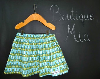 SAMPLE - Children Skirt - Will fit Size 2T up to 4T - Amy Butler - by Boutique Mia and More - Ready To Ship