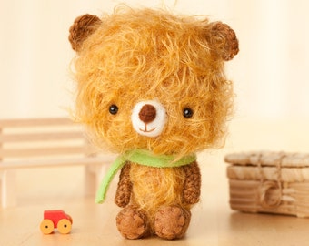 Teddy bear toy  - made to order - Tilo -