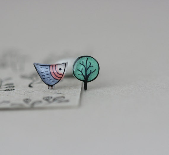 RESERVED - Earring Studs