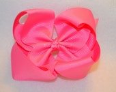 CLEARANCE Hot Pink Bowtique Bow
