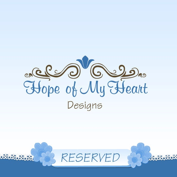 Reserved listing for Joey