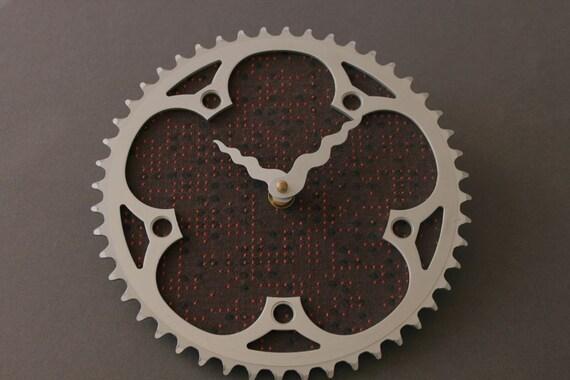 bicycle clock - modern circuit board