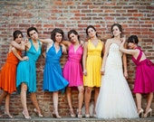 Infinity Dress in hundreds of color options- various fabrics, casual to formal - prices vary