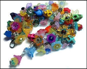 JARDIN de los MUERTOS Loaded Day of the Dead Charm Bracelet - Made To Order (025)