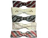 Vintage 5 Clip On Bow Tie...