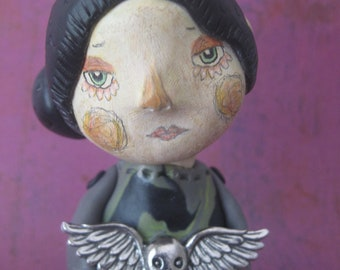 Maureen. Original Clay Art Doll