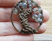 Intuitive Soul Tree of Life Necklace-Labradorite Branches