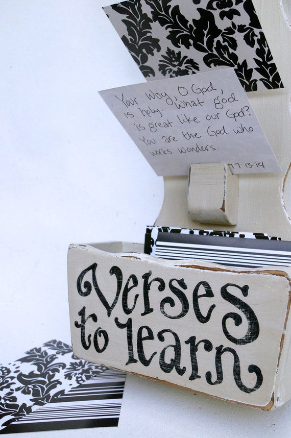 Verses to Learn Note Board