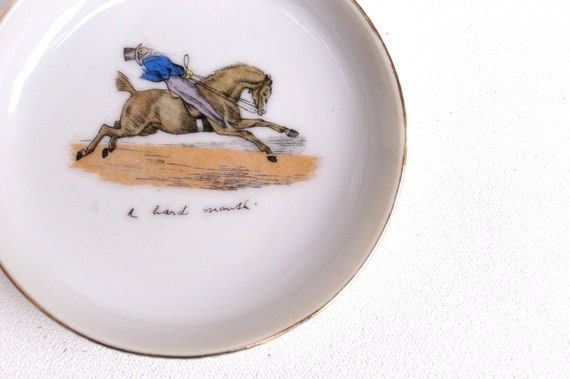 A Hard Mouth Vintage Horse Catch-all Dish