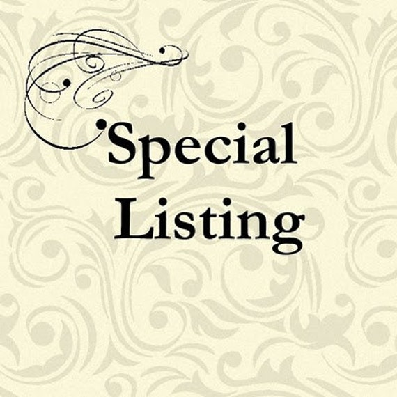 Special listing for Phyllis